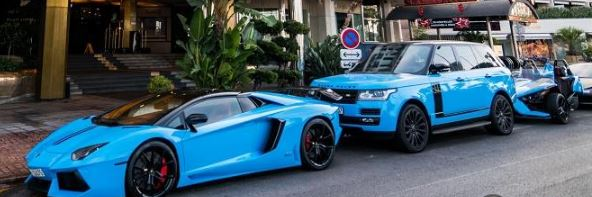 Wealthy Arabs Flaunt Their Supercars In London