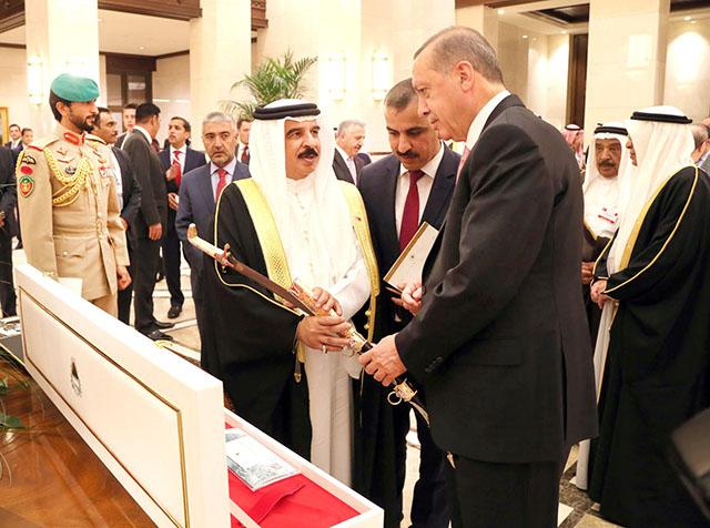 PHOTOS: King holds key talks with Turkish President