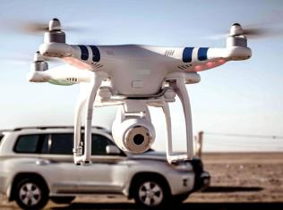 Drones to monitor violations in rural areas in Qatar