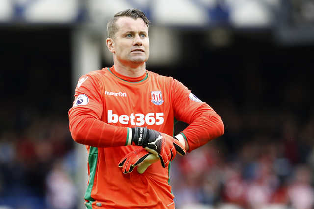 English Premier League: Goalkeeper's own-goal enough for Everton to beat Stoke 1-0