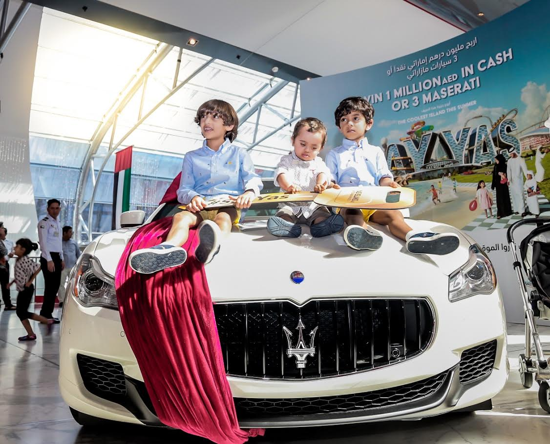 UAE: 11-month-old Emirati boy becomes youngest Maserati owner
