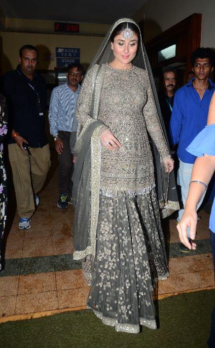 Bollywood: Photos: Kareena gets emotional as she walks at LFW with baby bump