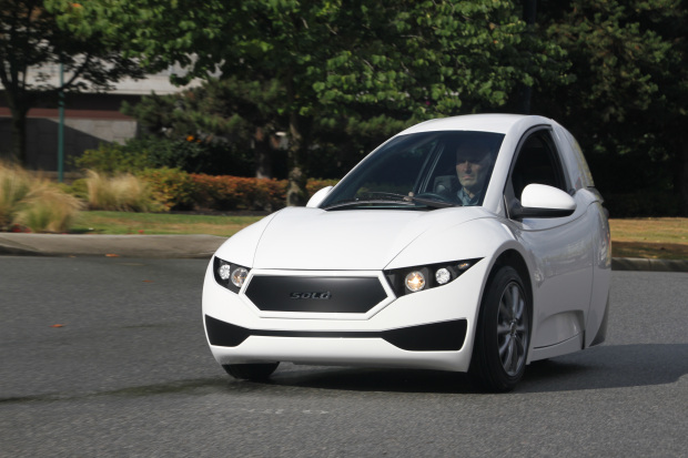 3-wheeled electric vehicle set to go on sale next year in US