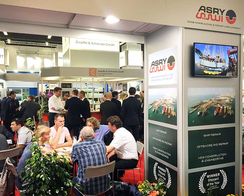 Asry showcases products at expo