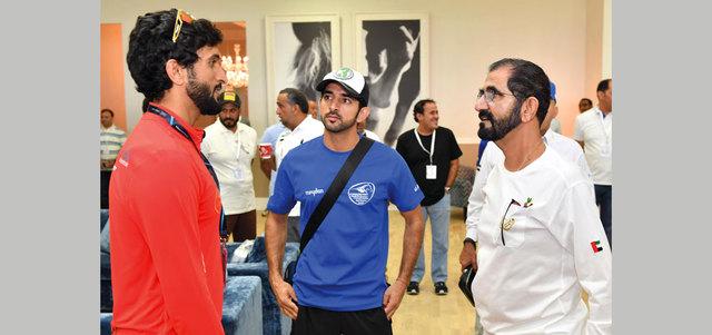 UAE: Photos: Dubai ruler reviews World Endurance Championship preparations