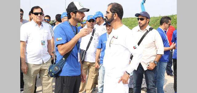 UAE: Photos: Dubai ruler reviews World Endurance Championship preparations