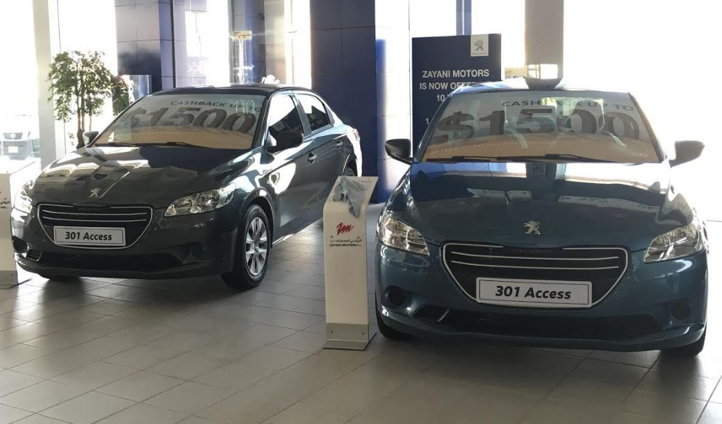 Zayani Motors launch cash recovery offer for Peugeot 301