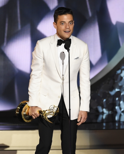 TV: Most Memorable Emmy Moments: From 'rock my chain' to 'Maggie Smith Rule'