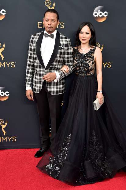 Terrence Howard drops expletive during live Emmys interview