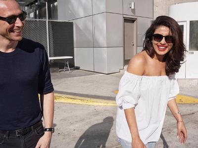 TV: Emmys: Priyanka Chopra and Kit 'Jon Snow' Harington pose for photos