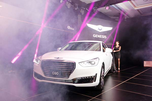 New Genesis G90 launched