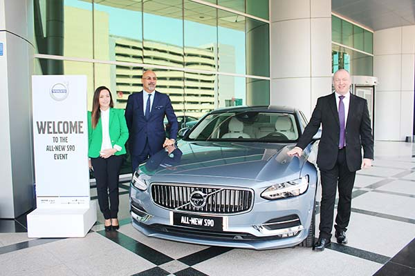Motorcity launches Volvo S90