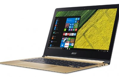 Acer unveils thinnest notebook, other products