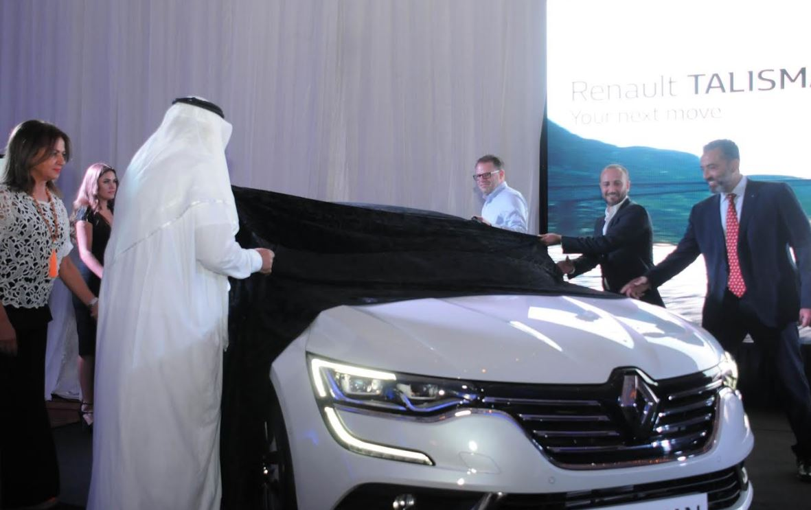 The new Renault Talisman launched