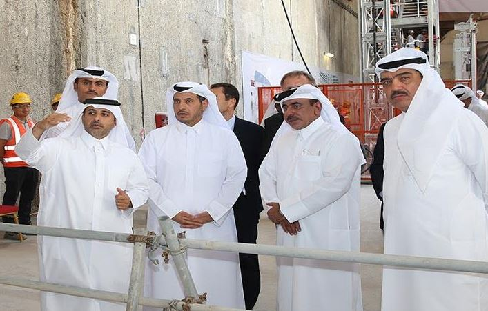 Doha Metro digging phase complete