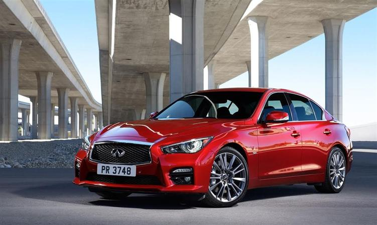 Infiniti Q50 sports sedan launched in Middle East