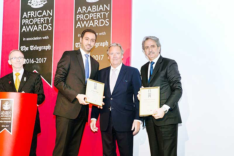 Top honours for Arab Architects