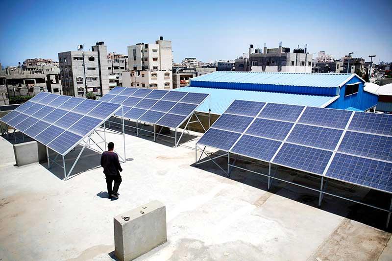 Solar energy push