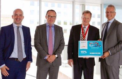 Agility, Maersk join to slash CO2 emissions