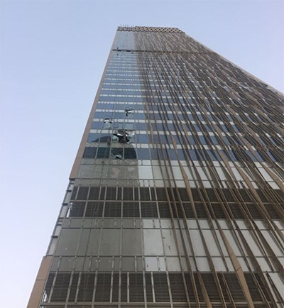 Asian worker survives fall from 39th floor, another killed