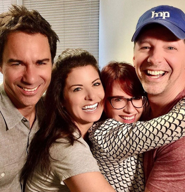 'Will & Grace' stars stage sweet reunion