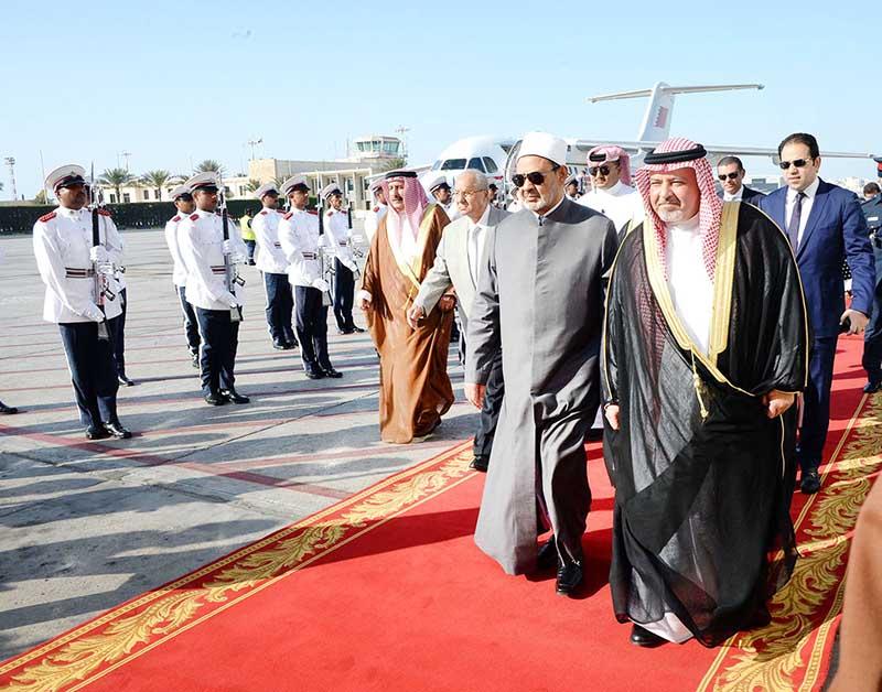 Al Azhar Grand Imam arrives