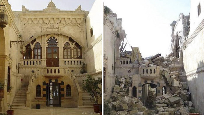 Middle East News: 10 HEARTBREAKING photos of Aleppo before and after the war!