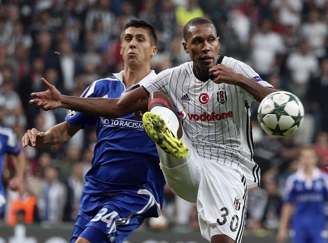 Dynamo Kiev holds Besiktas to 1-1 draw in Champions League