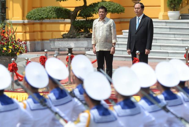 Philippines' Duterte to scrap future war games with US