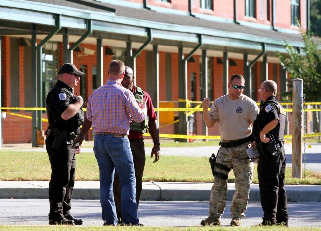 Boy, 6, fighting to survive after South Carolina school shooting