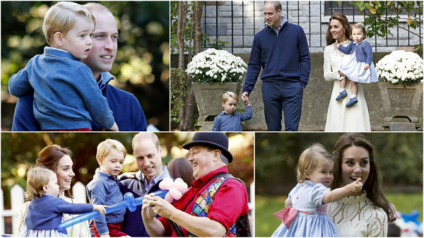 In Pictures: British royal kids make rare appearance in Canada