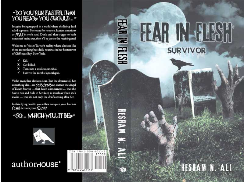Zombie-thriller debut for Bahraini author