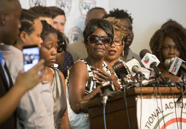 Family of slain black man wants police to release full video