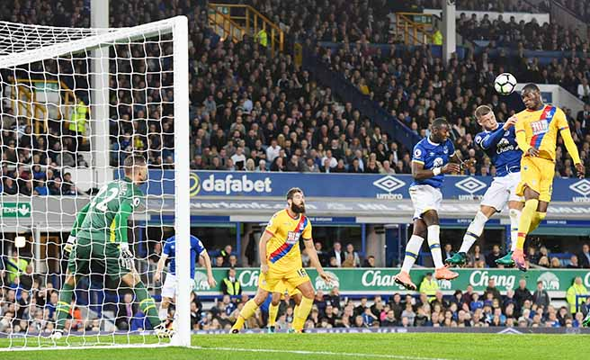 Everton held by Palace