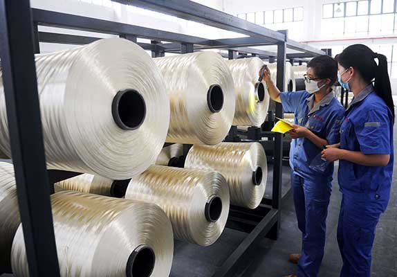 China manufacturing sector expands