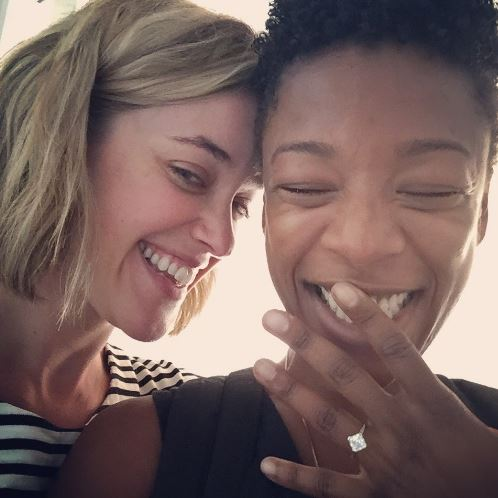 'Orange is the New Black' star, show writer get engaged