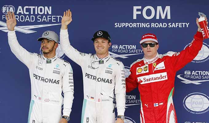 Rosberg grabs pole in Japan