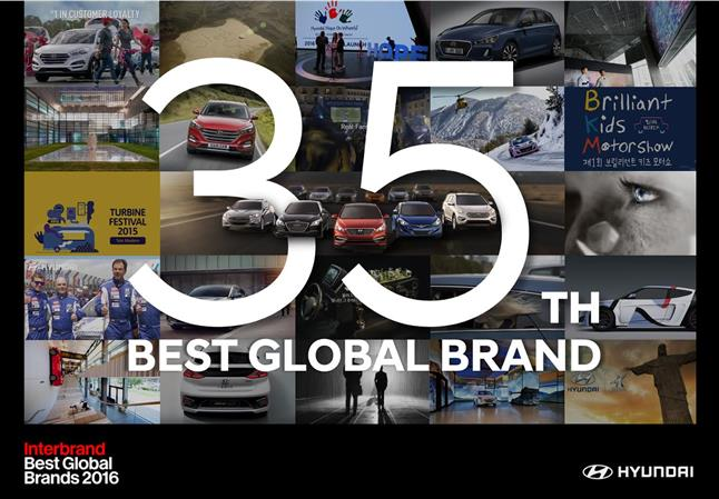 Hyundai Motor global brand value continues to grow
