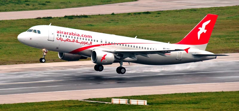 Air Arabia ranked third in list of top 50 global airlines