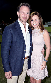 Former Spice Girl Geri Halliwell pregnant with second child