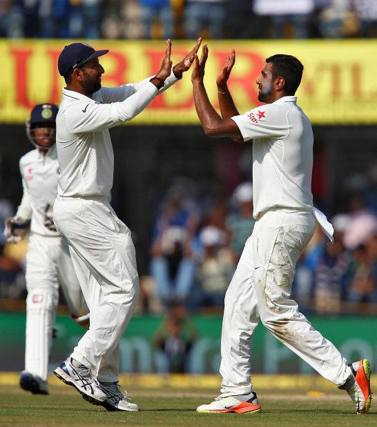 Pujara, Ashwin lead India to series sweep