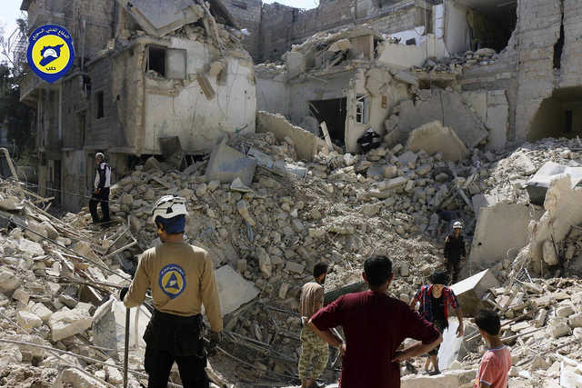 New challenges in Syria as militants weaponised drones