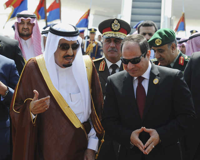 Egypt finds other sources as Saudi halts fuel shipments