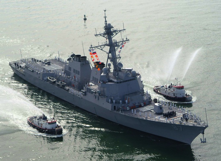 Yemen rebels fire two missiles at US ship; both miss