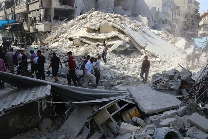15 die in Aleppo airstrike