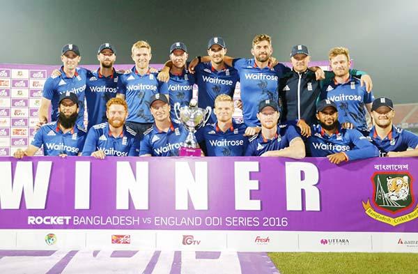 England clinch series against Bangladesh