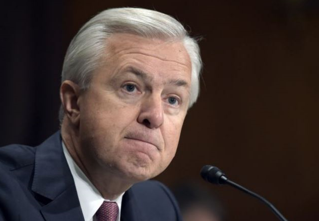Wells Fargo CEO is out as bank grapples with sales scandal