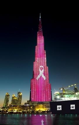 Burj Khalifa to glow pink for cancer awareness