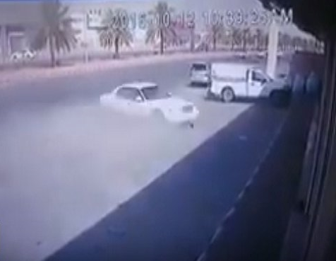 Video: Saudi youngster killed in horrific accident