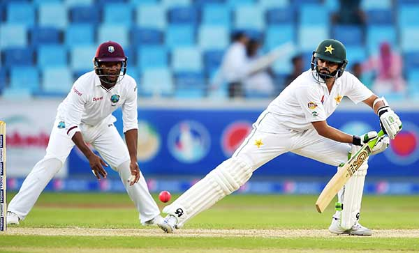 Pakistan get off to strong start